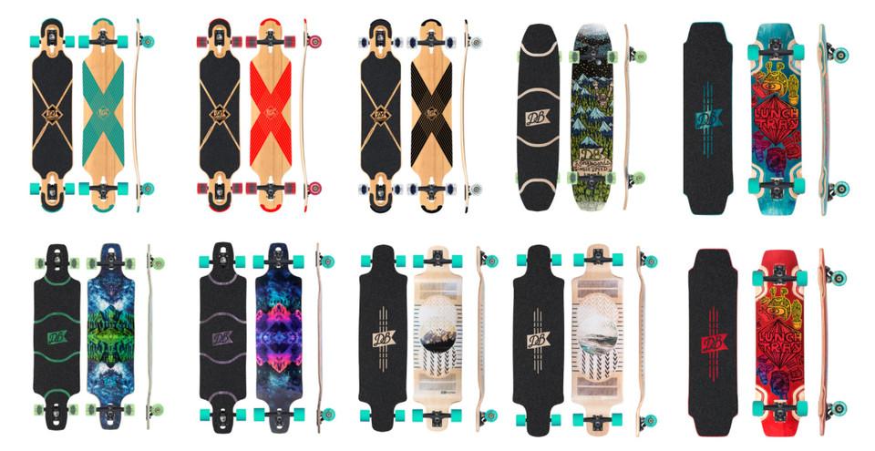 DB Longboards 2016 Lineup