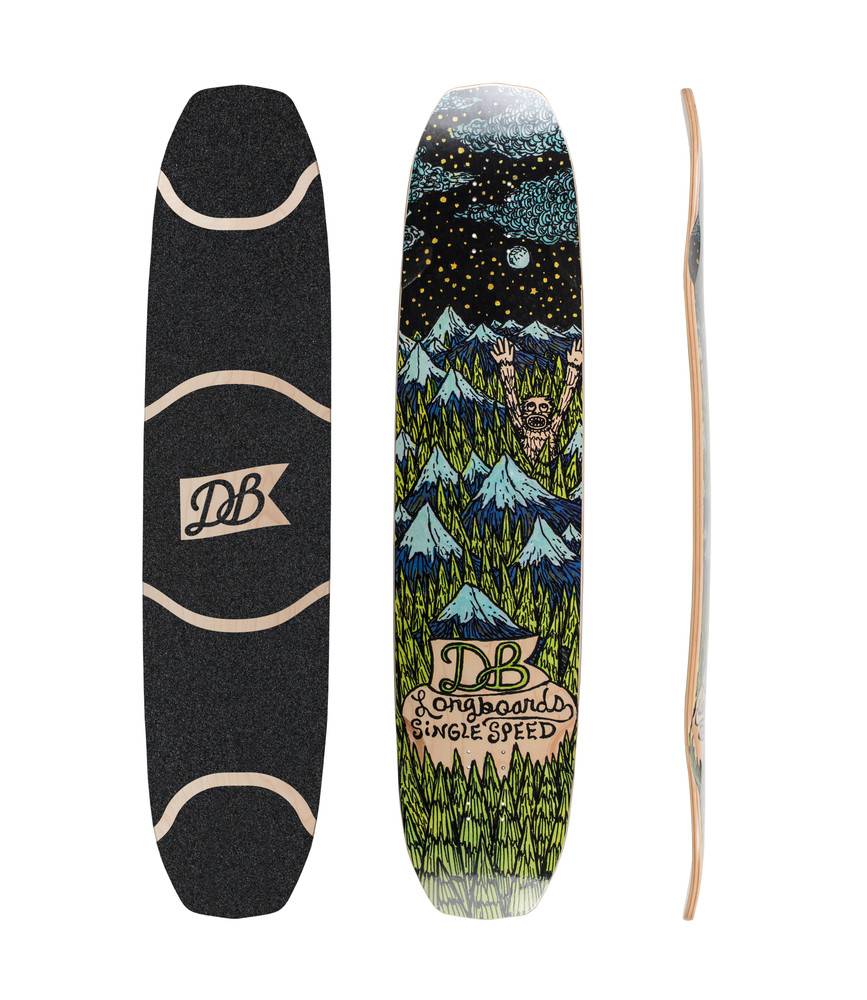 DB Longboards 2016 Single Speed