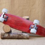 Hurtle Skateboards One Off Red