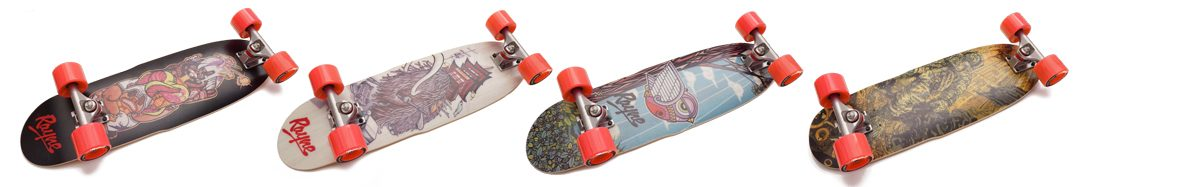 Mini Cruisers Rayne Longboards