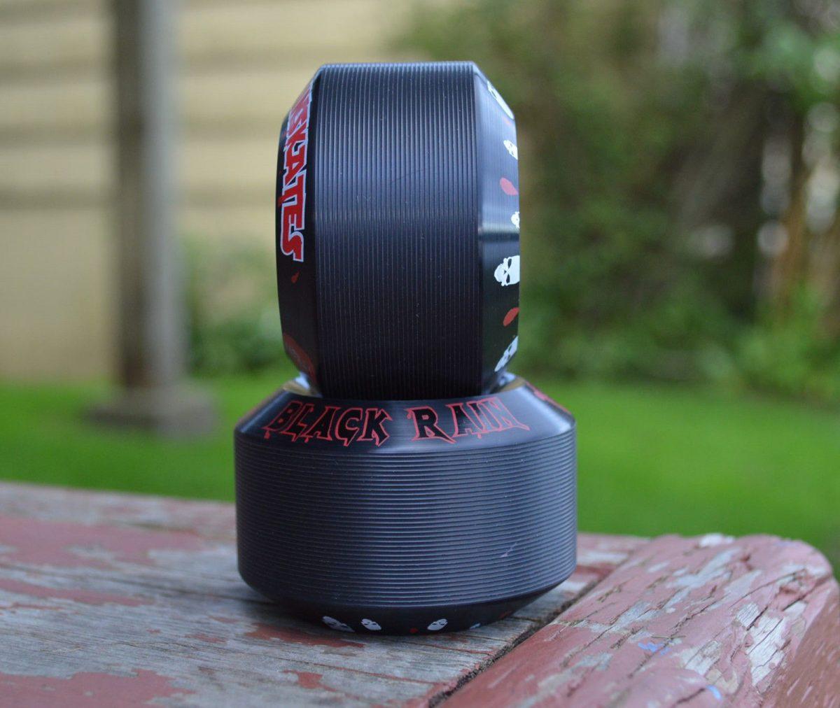 Rain Skates Black Rain 63MM