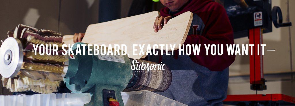 Subsonic Custom Skateboard Builder