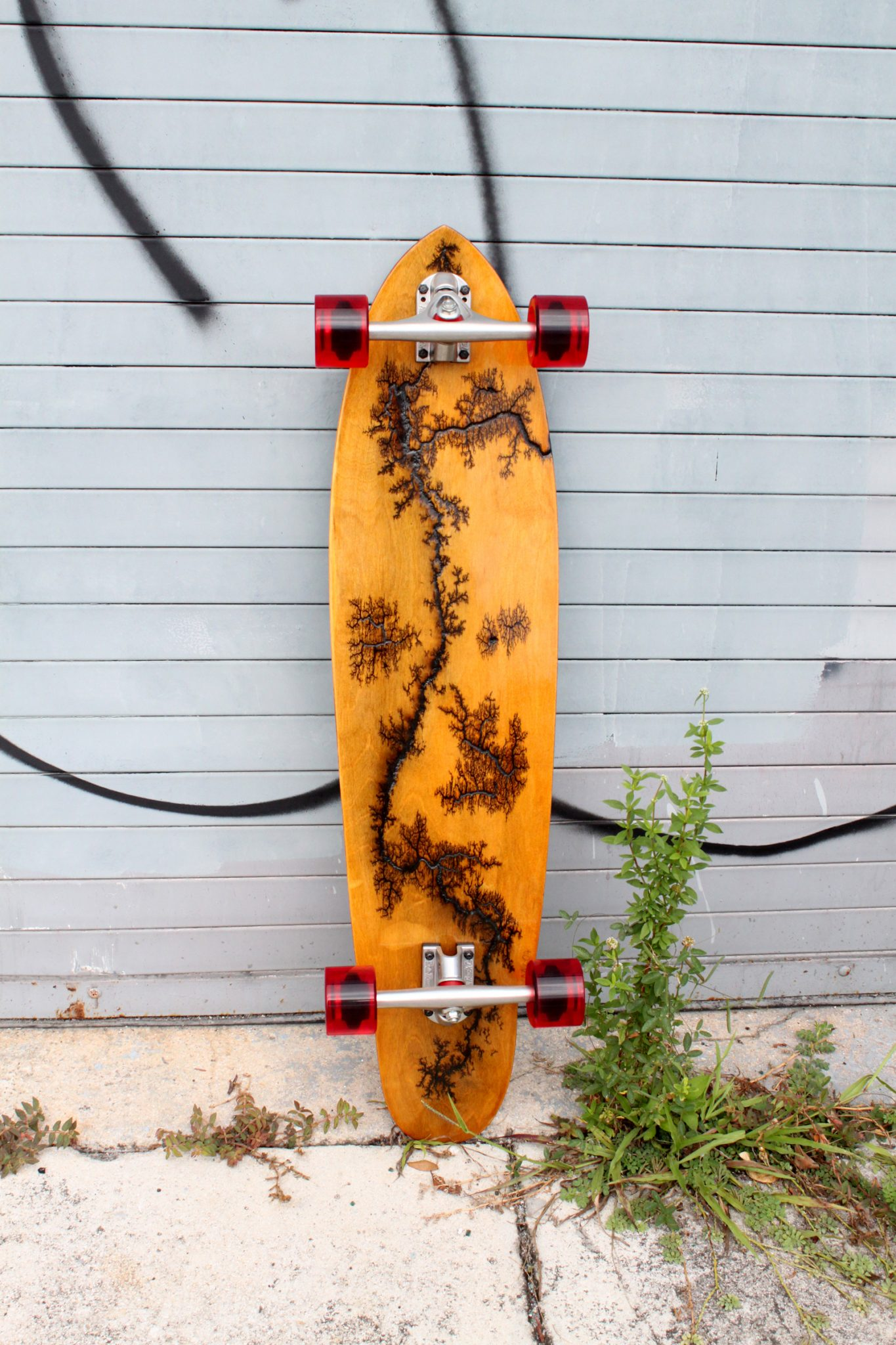 """Holz Longboards 39"""" Bamboo Cruiser Belly"""