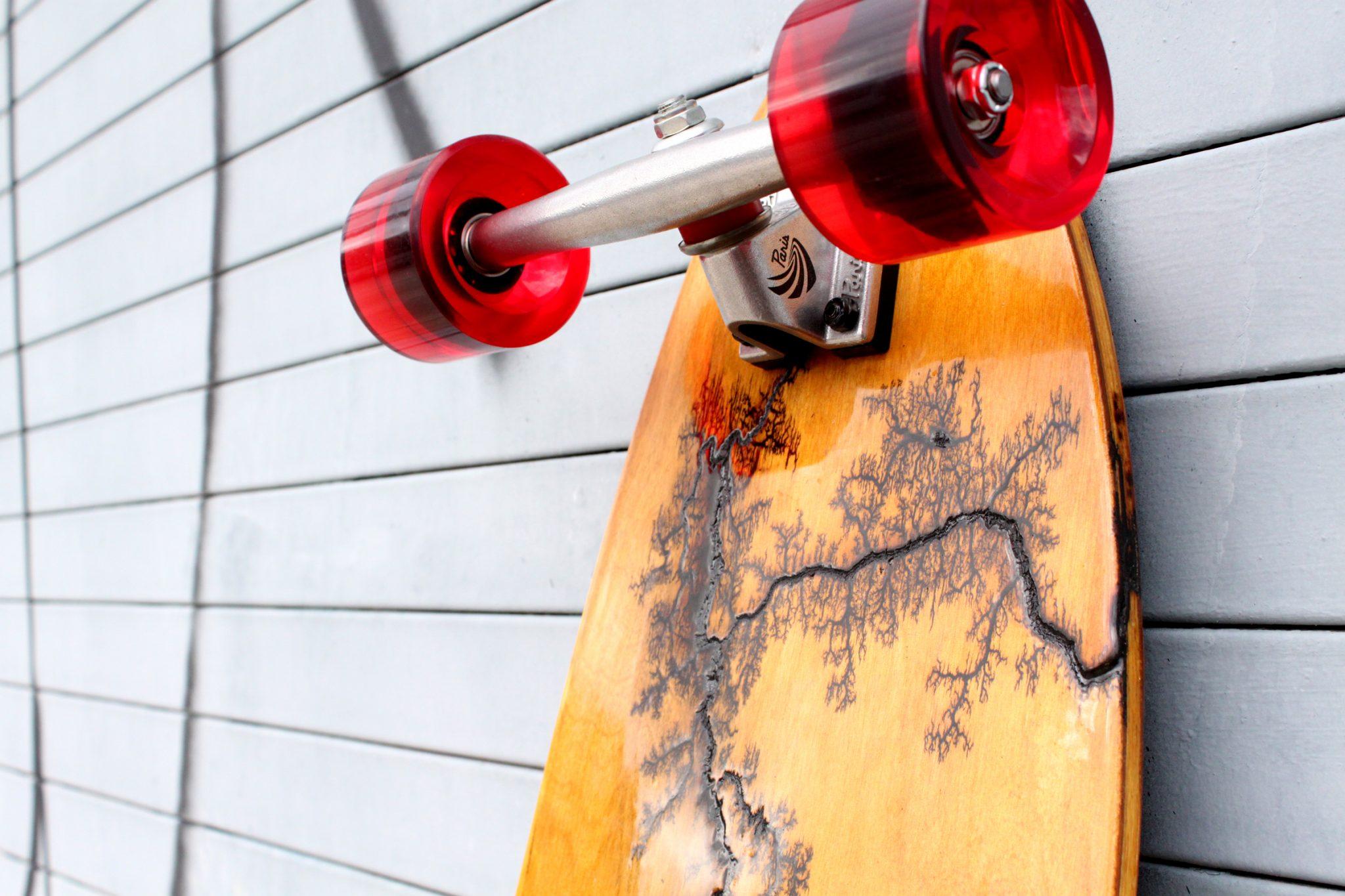 """Holz Longboards 39"""" Bamboo Cruiser Nose"""