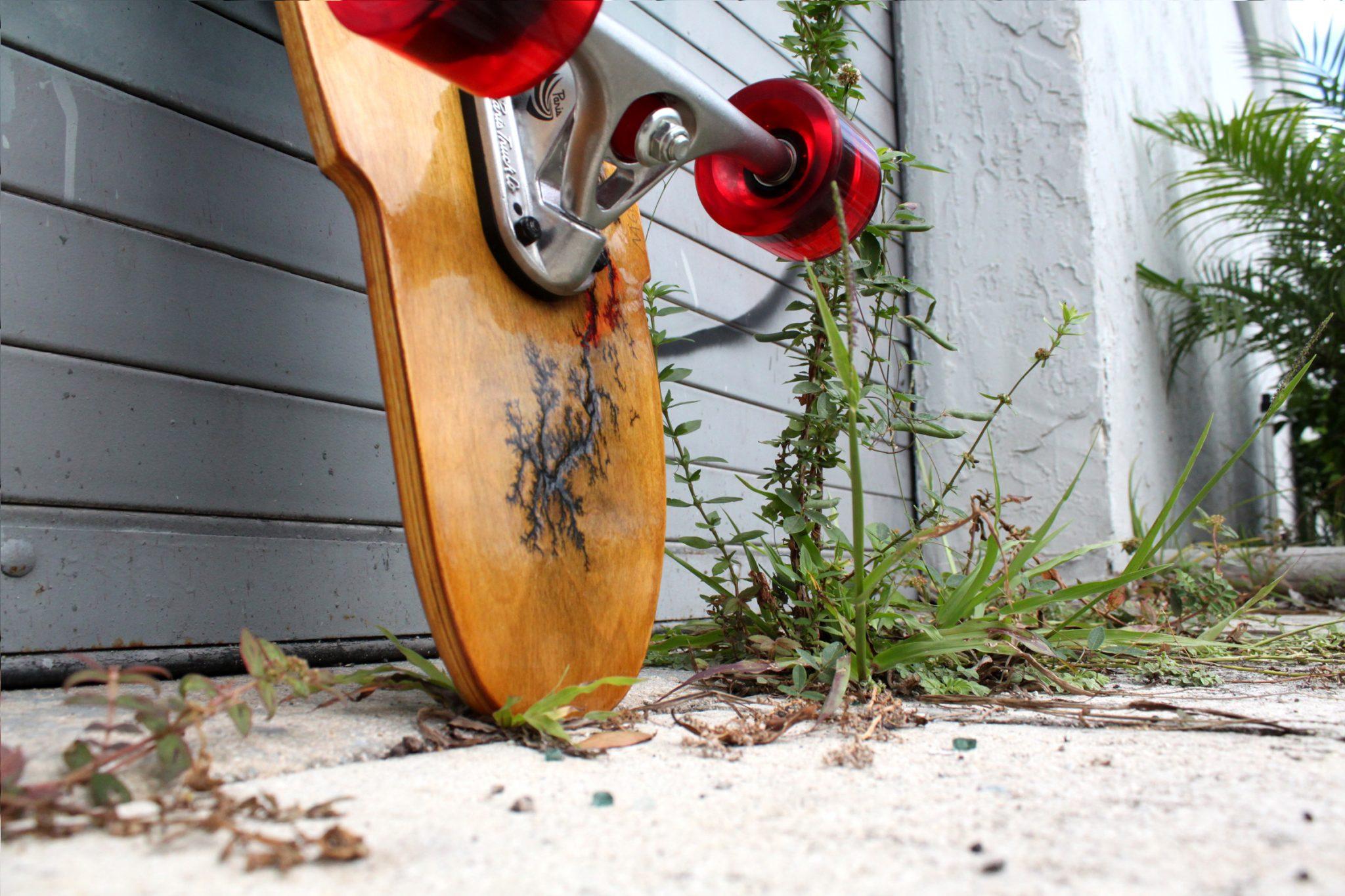 "Holz Longboards 39"" Bamboo Cruiser Tail"