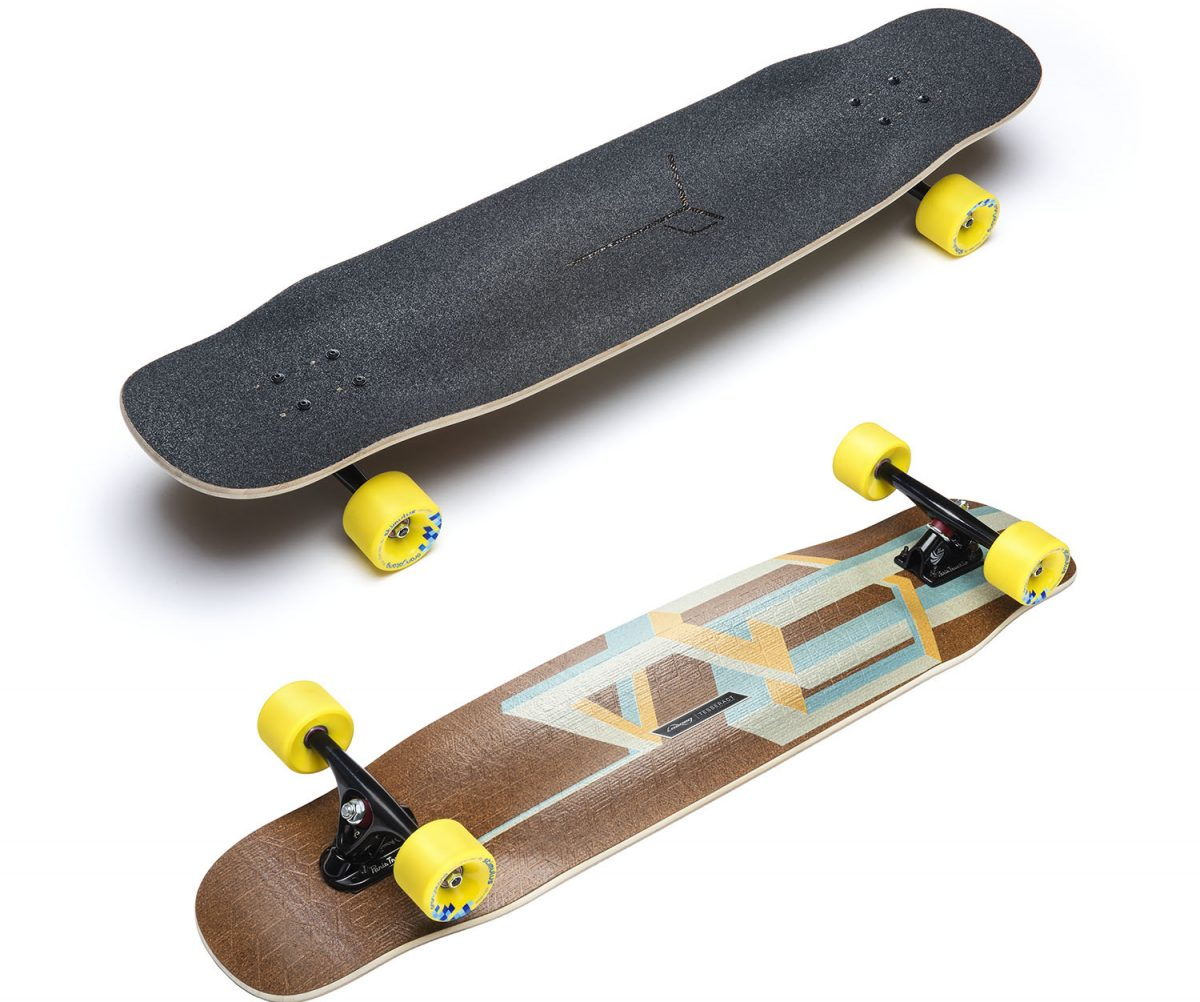 loaded longboards tesseract