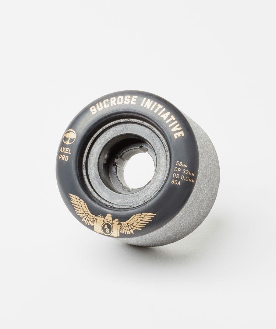 Photo of the Sucrose Initiative Axel Serrat Pro Model wheel in Black