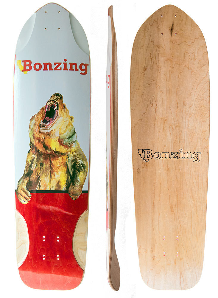 Photo of Bonzing Skateboards Grizzly Deck