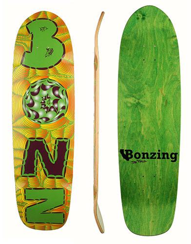Photo of Bonzing Skateboards Da Kine deck