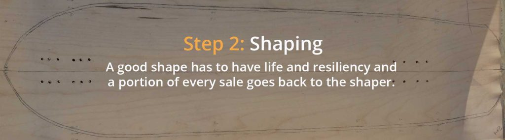 Photo of Step 2 of Bonzing's 4-step process