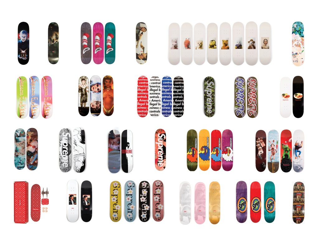 Photo of Supreme Skateboard Collection at Southeby's - #2