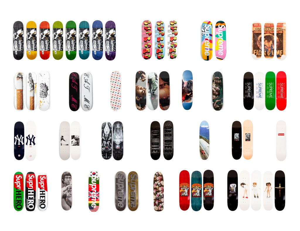 Photo of Supreme Skateboard Collection at Southeby's - #3