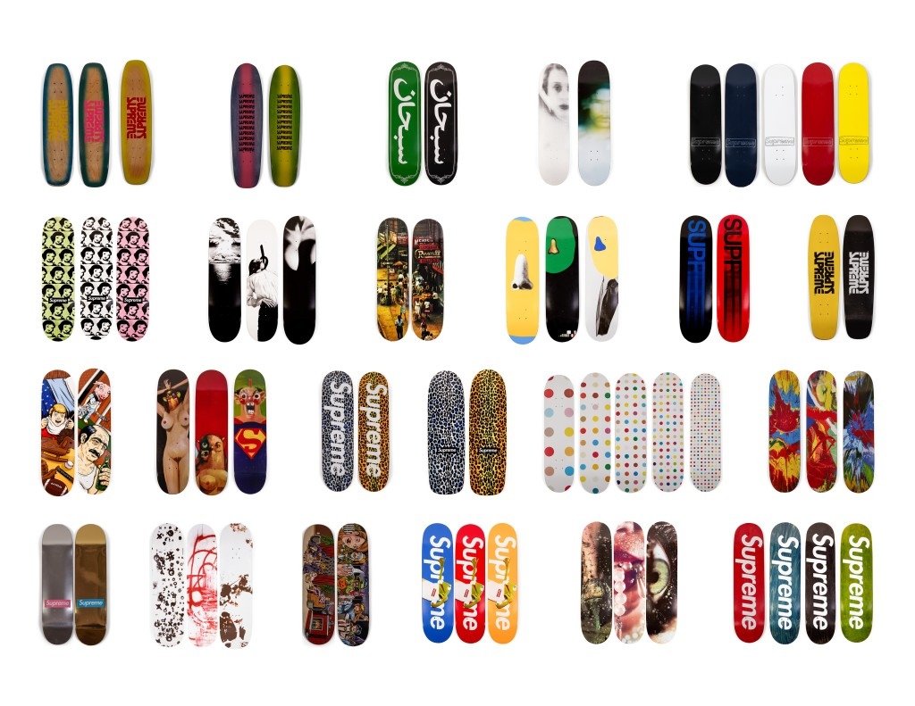 Photo of Supreme Skateboard Collection at Southeby's - #4