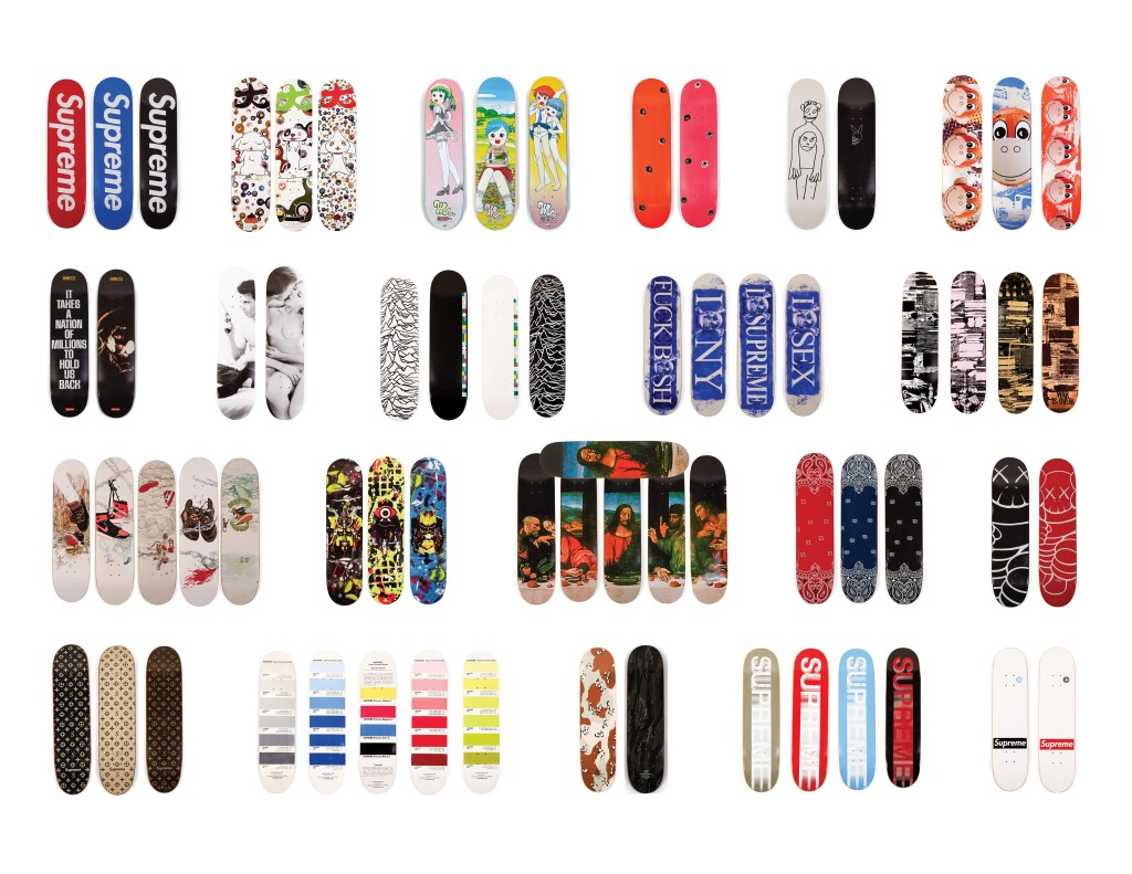 Photo of Supreme Skateboard Collection at Southeby's - #5