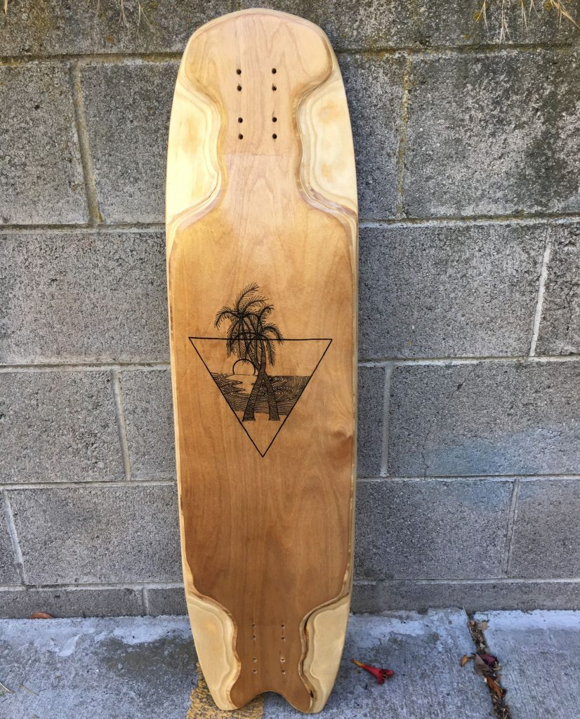 Photo of Ivey Longboards Convergence All Birch Construction