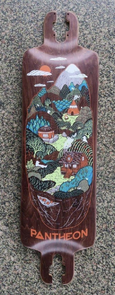 Photo of 2019 Pantheon Longboards Home Town Graphic