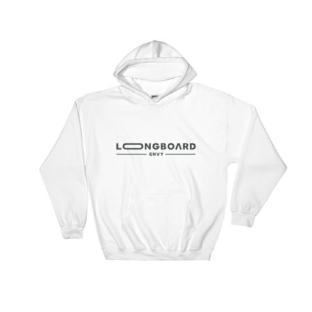 Photo of White Longboard Envy Hoodie
