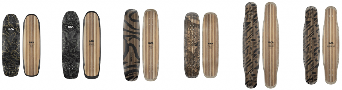 Photo of Luca Longboards 2019 Lineup