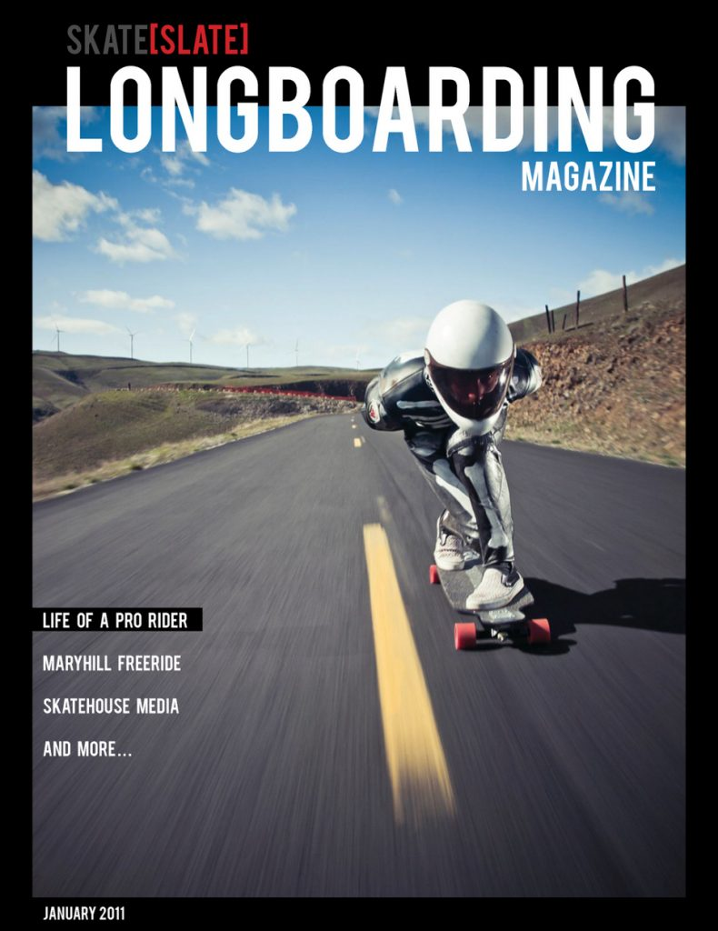 Photo of Skate Slate Issue #00 January 2011 Cover