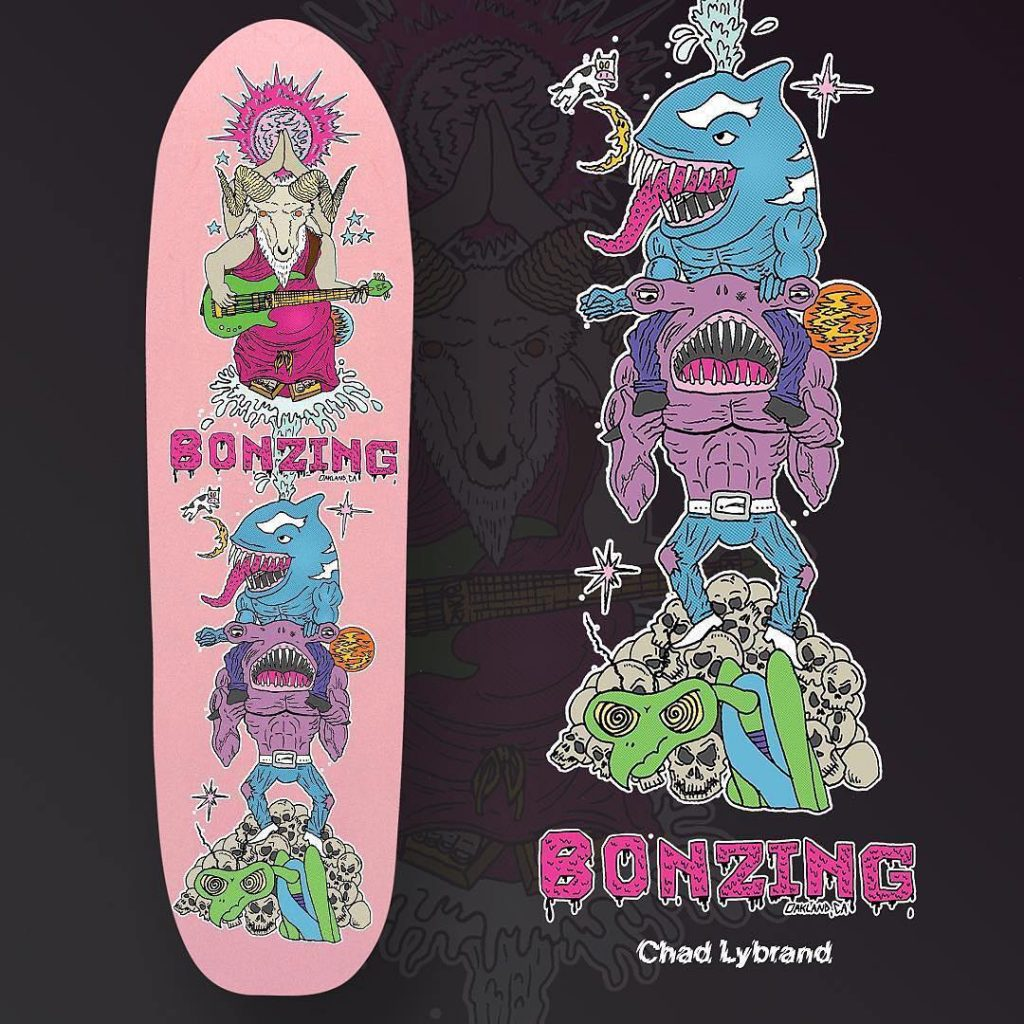 Photo of the 2019 Bonzing Lurktron Graphic