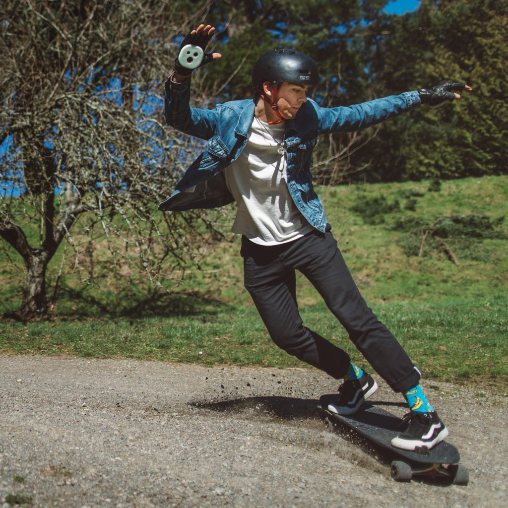 Photo of Brandon DesJarlais on his Moonshine Proscrito Pro Model