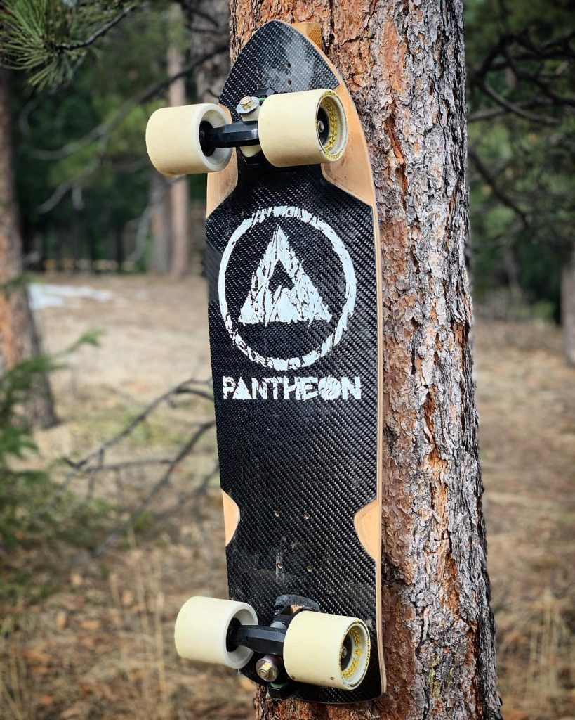 Photo of Pantheon Seed with Valkyrie Voxter trucks and Venom Magnum Wheels