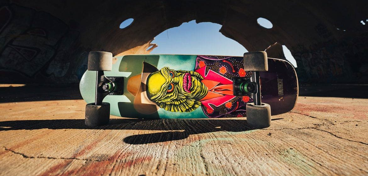 Photo of Landyachtz longboards Dinghy creature