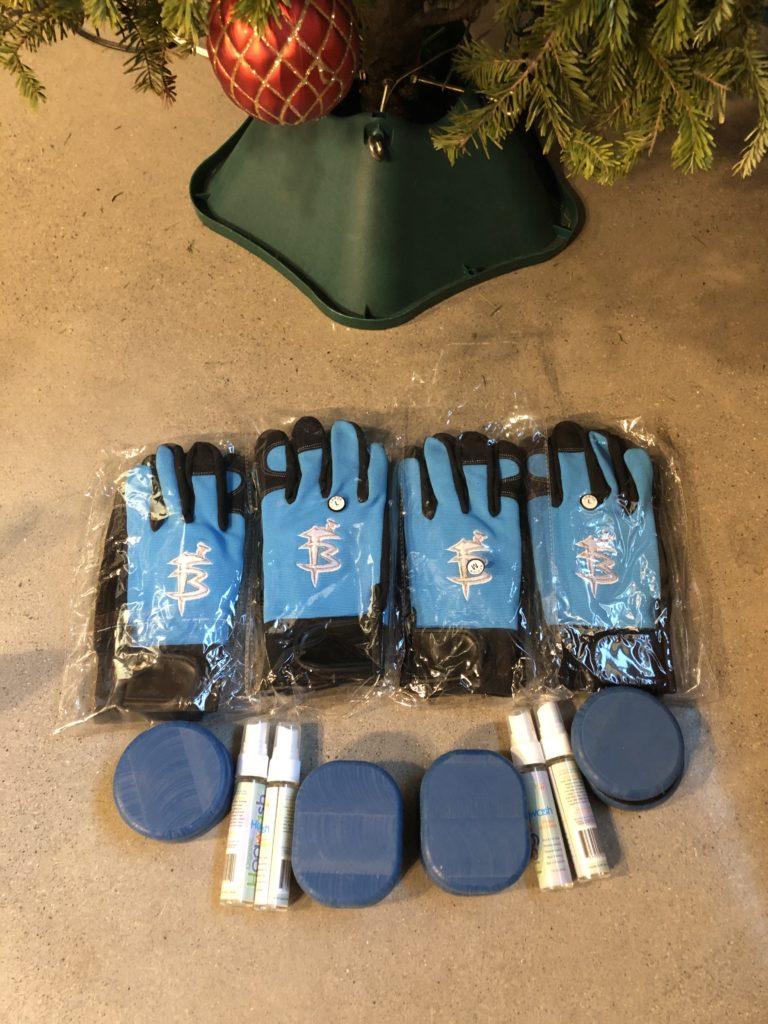 Faceplant Boardriders slide gloves