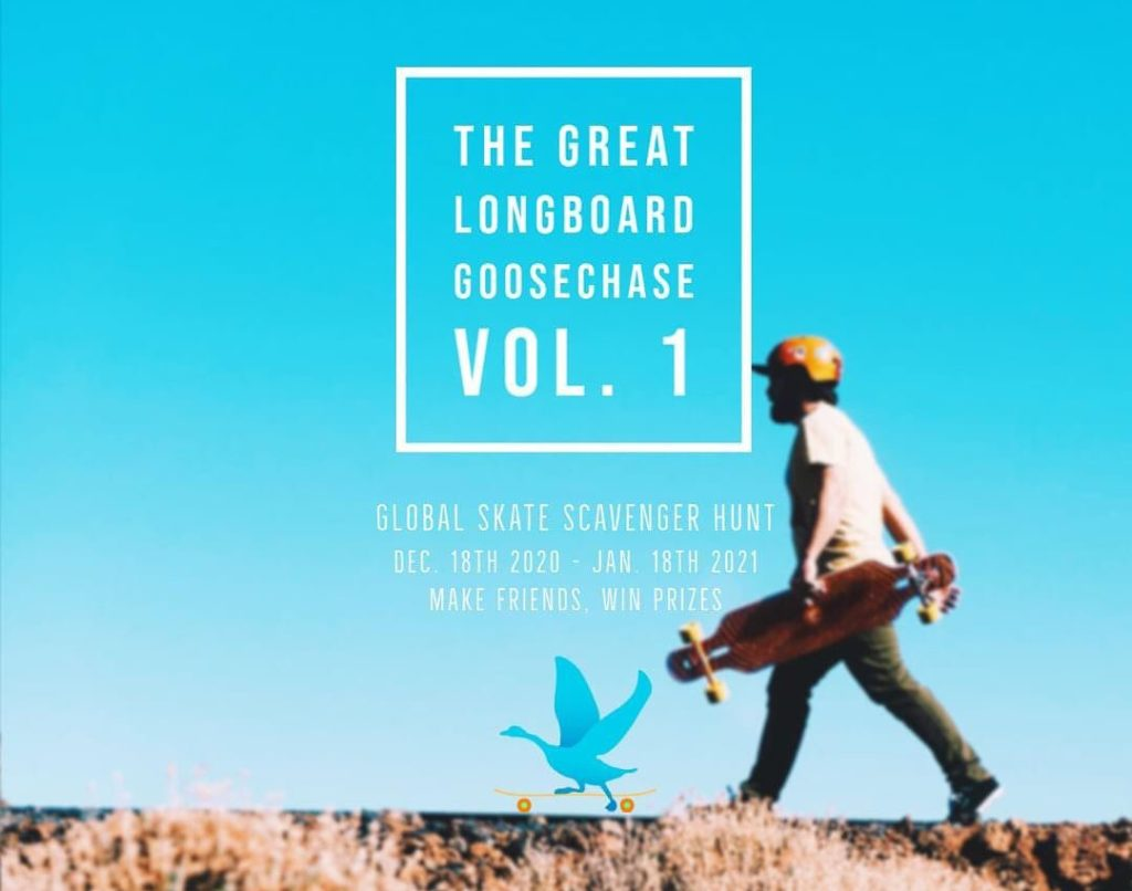 The Great Longboard Goose Chase Vol 1 Announcement