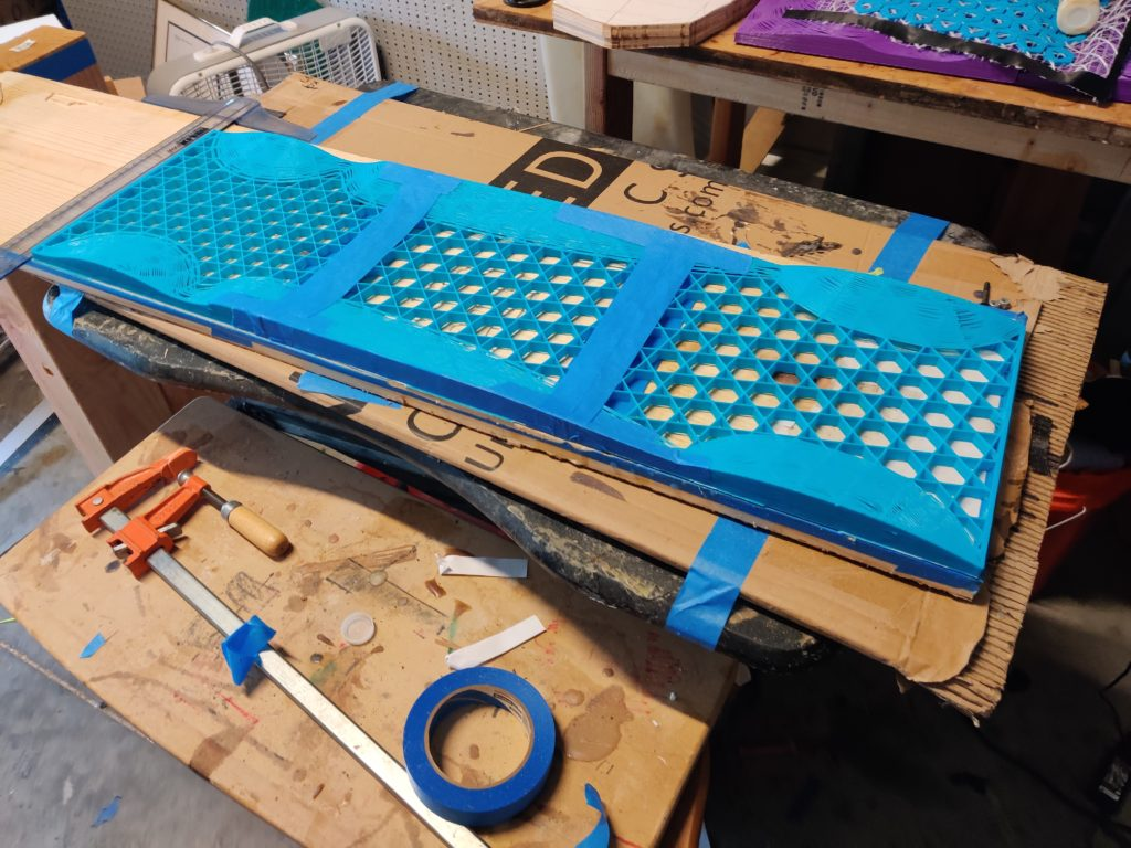Voxel Boards 3D Printed Mould